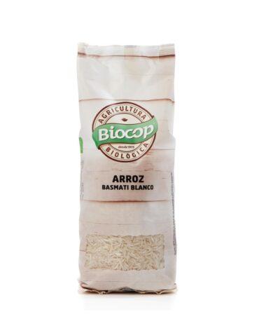 Disfruta del arroz y pasta ARROZ BASMATI BLANCO BIO 500GR.