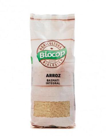 Disfruta del arroz y pasta ARROZ BASMATI INTEGRAL BIOCOP 500 G