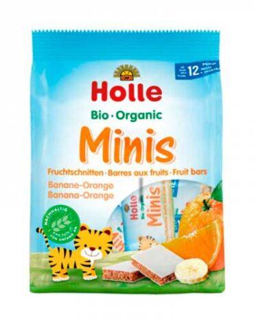 Cuida de los pequeños con nuestra alim infantil BARRITAS MINI PLATANO Y NARANJA +12 MESES (8X12.5 G)