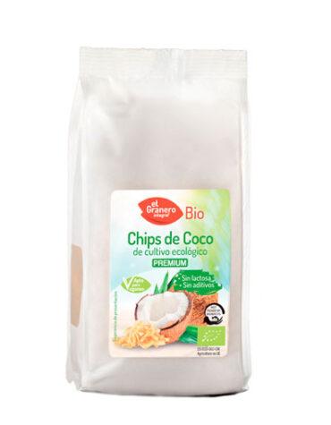 Descubre nuestros aperitivos y frutos secos CHIPS DE COCO BIO 125grs
