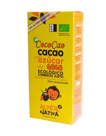 Disfruta de las bebidas solubles COCOCAO BIO 250GR
