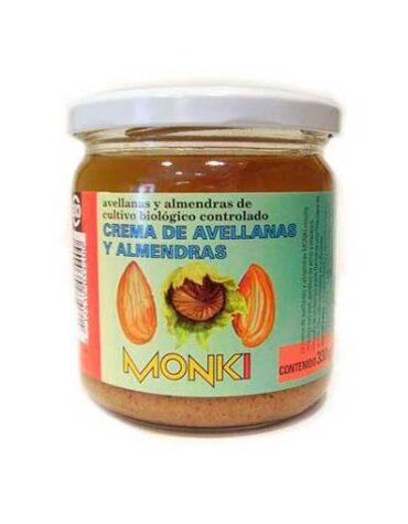 Descubre nuestras sales, condimentos y salsas CREMA DE AVELLANAS Y ALMENDRAS BIO 330GR