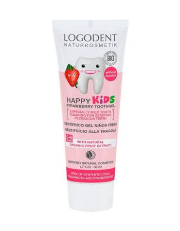 Cuidalos con nuestra higiene infantil DENTIFRICO NIÑOS FRESA ( SIN FLUOR ) 50 ml