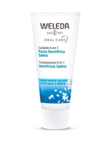 Cuidate con nuestros productos de higiene bucal DENTRIFICO SALINA 75ml BIO