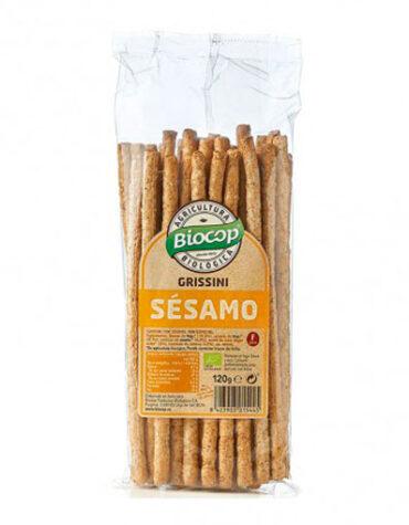 Descubre nuestros aperitivos y frutos secos GRISSINI SESAMO BIOCOP 120 G