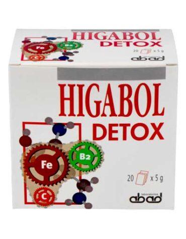 Desintoxica con los depurativos HIGABOL DETOX 20 SOBRES
