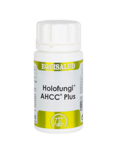 Rerfuerza tu sistema inmunológico HOLOFUNGI AHCC PLUS 50 CAPSULAS