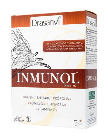 Rerfuerza tu sistema inmunológico INMUNOL 20 VIALES