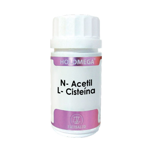 Relaja y controla tu sistema nervioso N-ACETIL - L-CISTEINA 50 cáp.