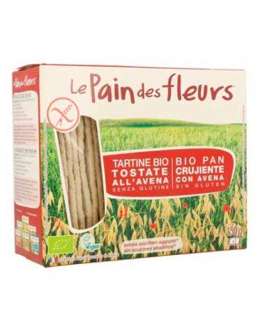Descubre nuestros productos para celiacos PAN DE FLORES CON AVENA SIN GLUTEN BIO, 150 g