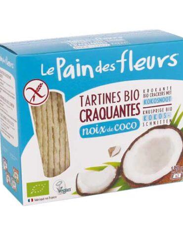 Descubre nuestros productos para celiacos PAN DE FLORES CON COCO SIN GLUTEN BIO, 150 g