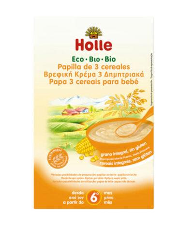 Cuida de los pequeños con nuestra alim infantil PAPILLA 3 CEREALES BIO 250grs