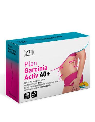 Para ayudar con el control de peso PLAN GARCINIA ACTIV 40+60CAPS