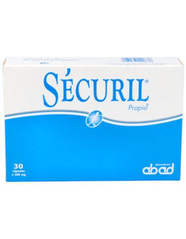 Ayuda a tu digestivo con nuestros digestivos SECURIL 30 CAPASULAS