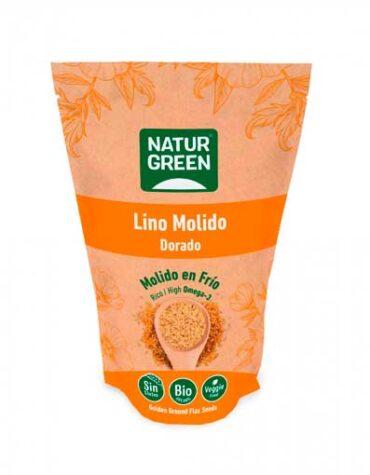 Descubre nuestra variedad de granos y semillas SEMILLAS DE LINO DORADO MOLIDO BIO 225 G