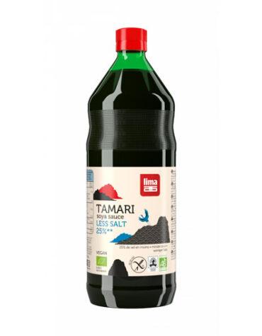 Descubre nuestras aceites y vinagres TAMARI 25% MENOS SAL 1L BIO
