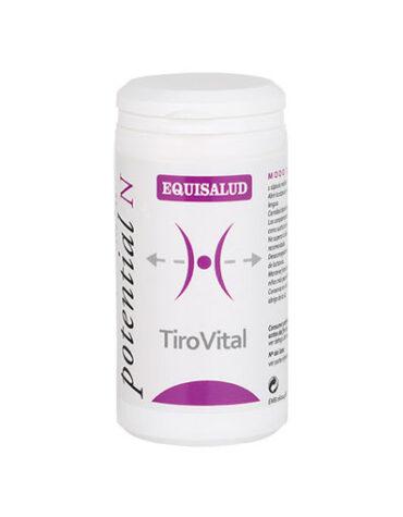 Cuidate con las vitaminas TIROVITAL 60 CAPS
