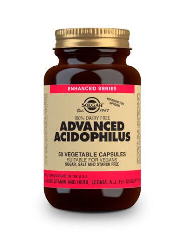 Ayuda a tu digestivo con nuestros digestivos ACIDOFILUS AVANZADO NO LACTEO 50 CAP VEG