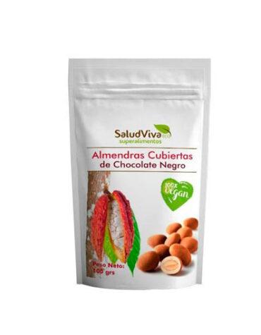 Descubre superalimentos ALMENDRAS CUBIERTAS DE CHOCOLATE 100 GR.