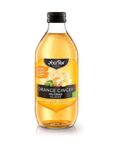 Descubre nuestras bebidas BEBIDA YOGI TEA NARANJA JENGIBRE 330 ML