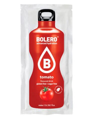 Disfruta de las bebidas solubles BOLERO TOMATE CON STEVIA SOBRE 9GR