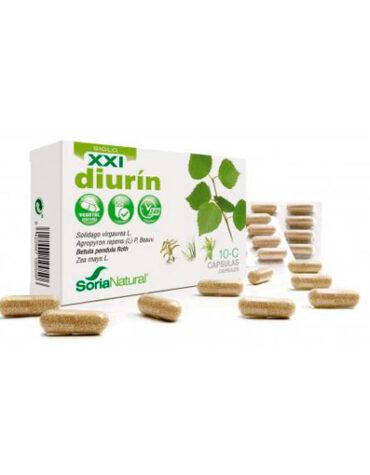 Seleccionamos las mejores plantas en comprimidos CAPS. 10C DIURIN LIBERACION PROLONGADA 30 CAPS