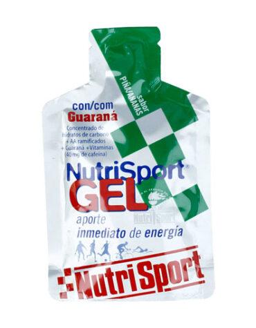 Para el deporte GEL NUTRI SPORT GUARANA PIÑA 40GR