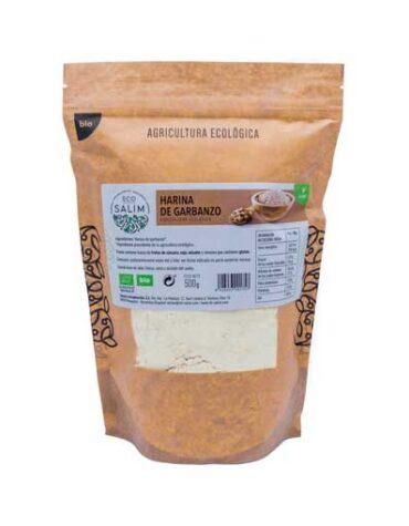 Descubre nuestras harinas y sémolas HARINA DE GARBANZO ECO 500GRS