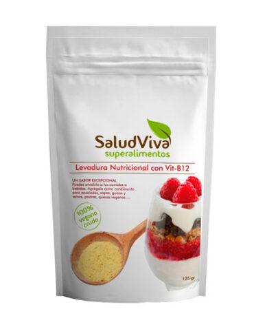 Comienza el dia con los copos, mueslis y salvados LEVADURA NUTRICIONAL B12 125GR
