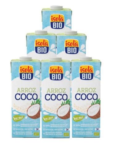 Descubre nuestras bebidas PACK 5+1 FAMILIAR BEBIDA L DE ARROZ COCO BIO 1 L