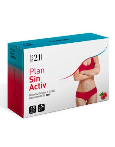Para ayudar con el control de peso PLAN SIN ACTIV 45CAPS