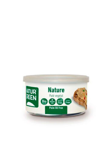 Disfruta de los patés y carnes vegetales Pate Nature de 125 g