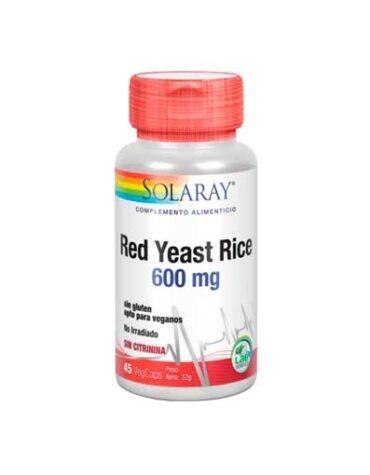 Baja los niveles de colesterol RED YEAST RICE 45 CAPS