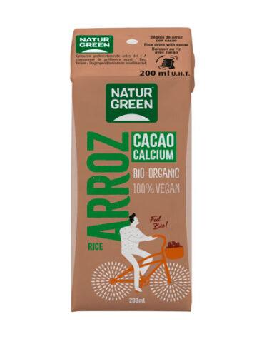 Descubre nuestras bebidas Arroz Choco Calcium 200 ml