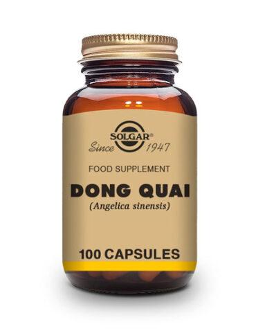 Rerfuerza tu sistema inmunológico DONG QUAI (Angelica sinensis). Cápsulas Vegetales.