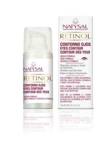 Cuidate con nuestros productos de línea facial GEL CONTORNO DE OJOS DE RETINOL 15 ml