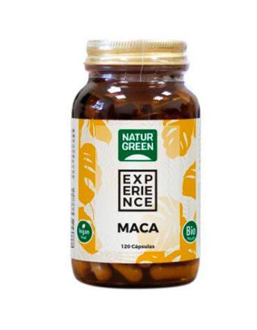 Carga las pilas con jaleas y energeticos Maca 120 capsulas
