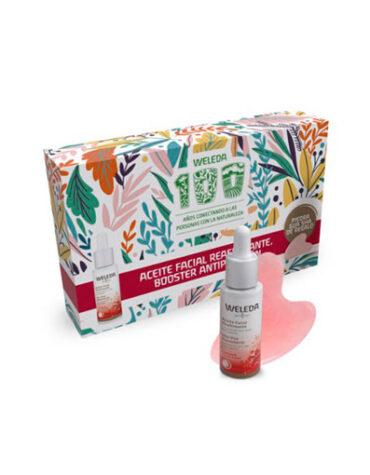 Cuidate con nuestros productos de línea corporal PACK ACEITE FACIAL+PIEDRA MASAJEADORA