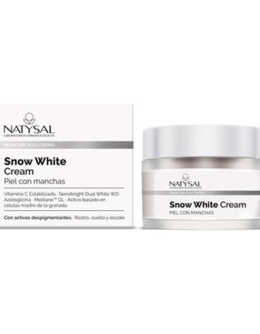 Cuidate con nuestros productos de línea facial CREMA SNOW WHITE DESPIGMENTANTE 50ML