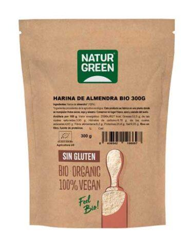 Descubre nuestras harinas y sémolas HARINA DE ALMENDRA BIO 300G