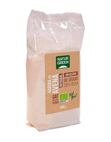 Descubre nuestras harinas y sémolas HARINA DE AVENA INTEGRAL BIO S/G 500G