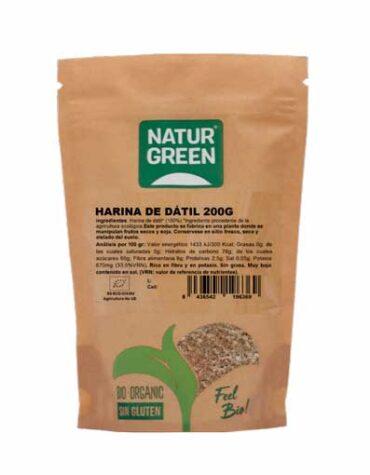 Descubre nuestras harinas y sémolas HARINA DE DATIL BIO 200G