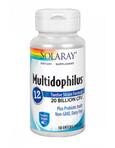 Rerfuerza tu sistema inmunológico MULTIDOPHILUS 12 - 50CAP 20BILL