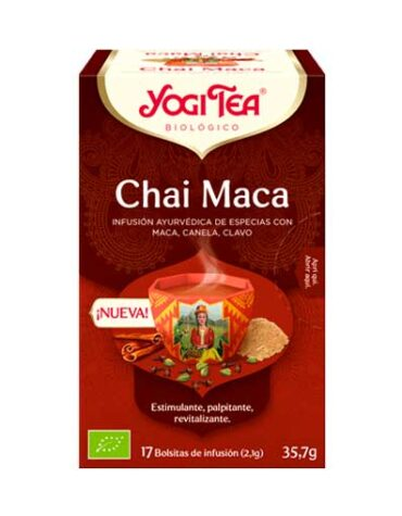 Seleccionamos las mejores plantas en filtro YOGI TEA MACA CHAI BIO 17 BOLSAS